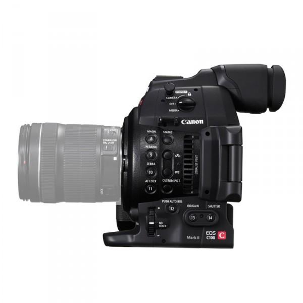 Canon C100 Mark II 0202C003AA - 0