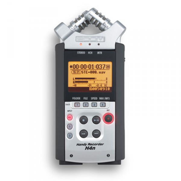 Zoom H4nSP, Mobiler High-End Digitalrecorder - 0
