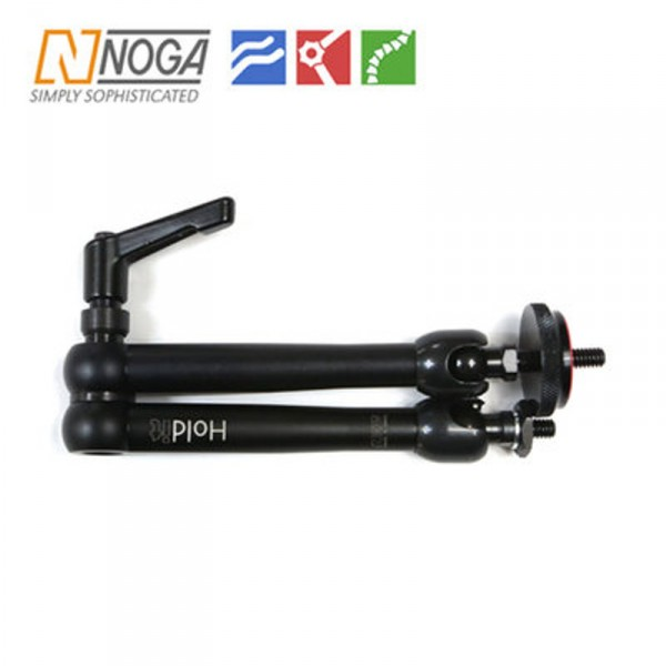 "Noga DG9014 Photographer Arm Midi (DG) Set Aluminium ""1/4""""-20 + Nut, 1/4""""-20 Gewinde"" - 0"