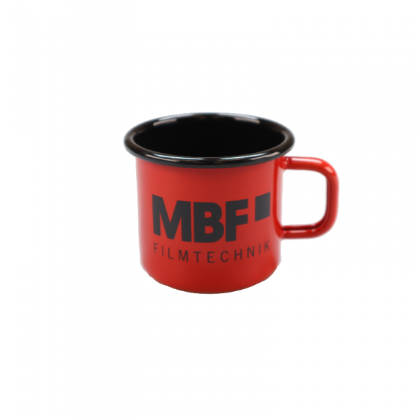 MBF Emaille-Becher, rot