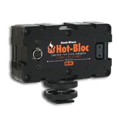 Hawk Woods HB-D1, Hot-Bloc 3-Way Hot-Shoe Canon BP-9 - 0