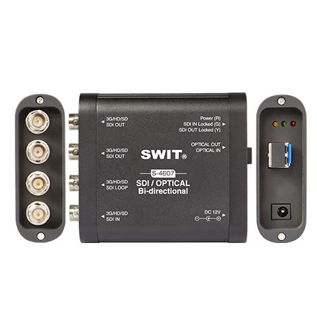 SWIT S-4607, SDI/Optical bi-directional converter