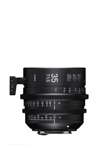 SIGMA 35MM T1.5 FF F/CE (METRIC) Canon EF