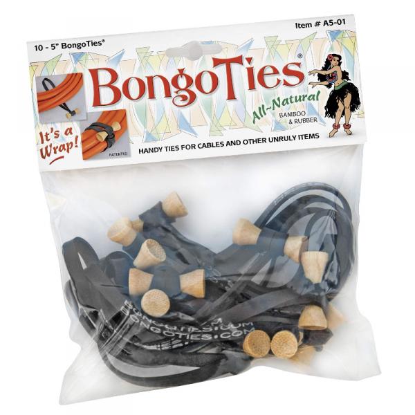 BongoTies 10er Pack - verschiedene Farben