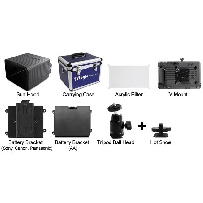 TV Logic OPT-AF-056W, Externer Acrylfilter für VFM-056W/WP - 0