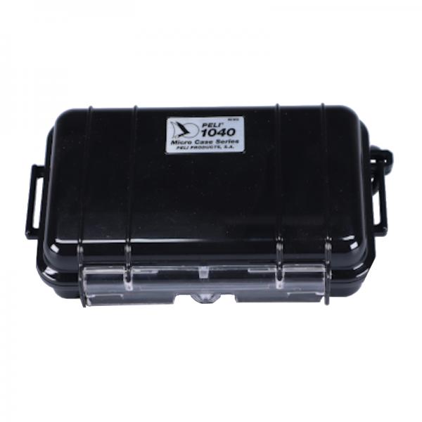Peli Micro Case 1040 schwarz/transparent, gebraucht