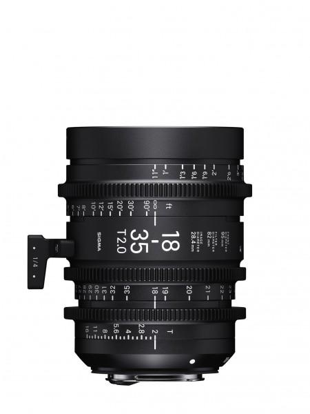 SIGMA 18-35MM T2 F/CE (METRIC) Canon EF