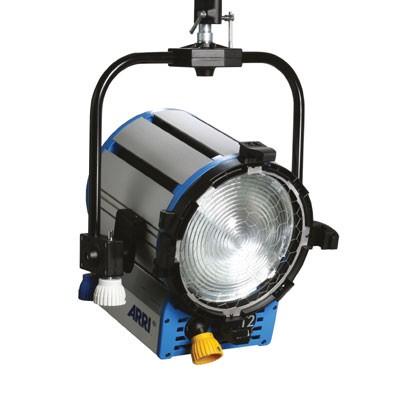 ARRI True Blue® ST2/3 P.O. 220 - 250 V~ blue/silver Schuko connector L3.40750.K - 0