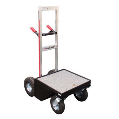 "Magliner Mag Junior Vertical Cart (Modified) with 8"" Wheel Conversion Kit, Vertical Handles MAG-01 V - 0"