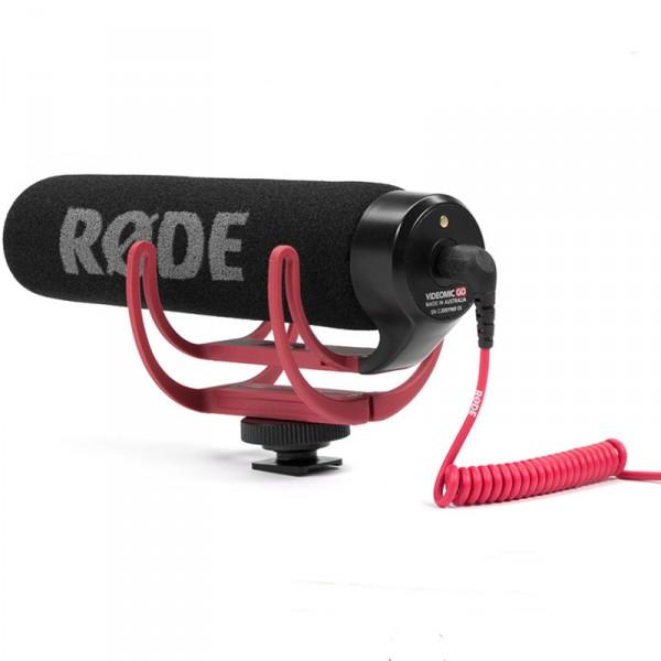 Røde VideoMic GO, Kamera-Richtmikrofon, Kameraspeisung - 0