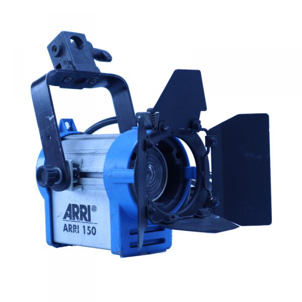 ARRI 150, blau/silber, Schuko, gebraucht