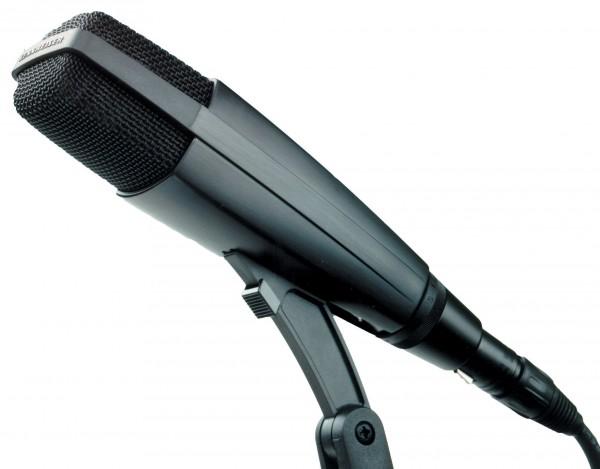 Sennheiser MD 421-II Studiomikrofon, dynamisch, Niere, Bassschalter, 3polig XLR-M, schwarz, inklusiv