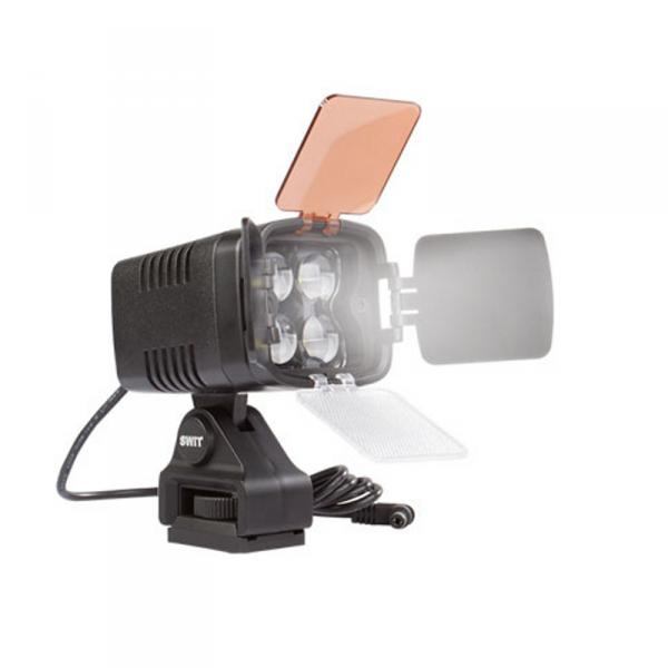 SWIT S-2010, 12W LED Headlight, 1100lx, DC Plug