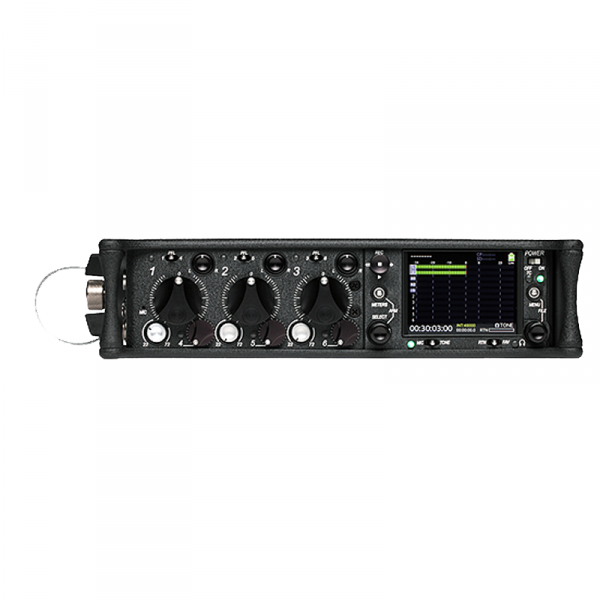 Sound Devices 633 6 Kanal Mischer mit 3 Mic, 3 line input ; SD / CF Recorder - 0