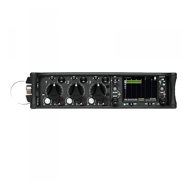 Sound Devices 633 6 Kanal Mischer mit 3 Mic, 3 line input ; SD / CF Recorder - 0