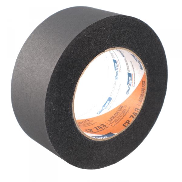Shurtape CP743, Paper Tape Schwarz 50mm x 55m