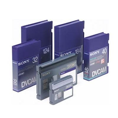 Sony PDV124N3 Digital Video Cassette Professional (DVC, 6mm), ohne Chip - 0