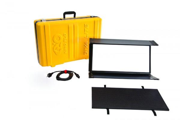 Kino Flo KIT-DL20X-230U, Diva-Lite 20 LED DMX Kit, Univ 230U w/ Travel Case