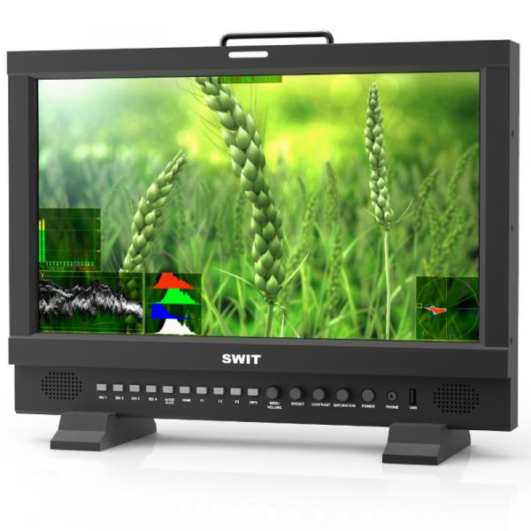 """SWIT BM-U173, 17"""" UHD 12GSDI HDR Zero-Delay Monitor"""