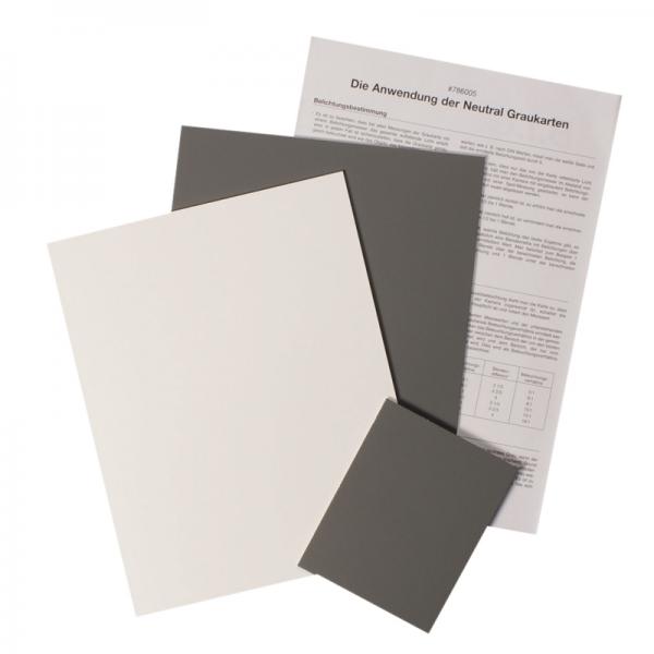 Graukarten-Set 3 Sück/ Karton