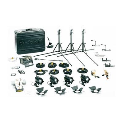 dedolight K12S Standard 100W Tungsten Kit DT12-4 - 0