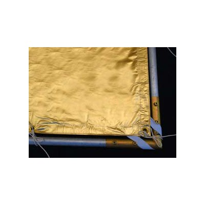 Roscotex 6'x6'  1,74m x1,74m Reflector Lame Gold - 0