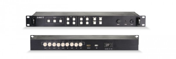 SWIT S-9204, 4 SDI Multiviewer and Switcher