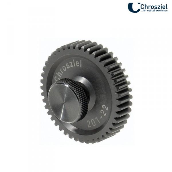 Chrosziel 201-22 Objektivantrieb für CineStyle, DigiPrimes für Studio Rig, mod 0.8, Ø36.8mm, B8.00m