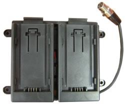 TV Logic BB-058B Batteryadapter, for VFM-058, for Panasonic AF-100 Batteries - 0