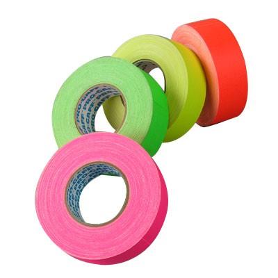 Gaffer Tape matt, neon    50mm x 45,7m gelb - 0
