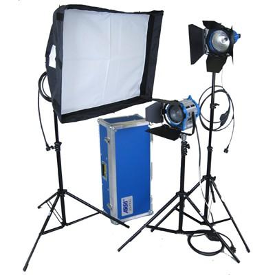 ARRILITE Kit Soft, Kofferset, 1x 650plus, 2 x plus750, 3 x Stativ, Chimera Softbox - 0
