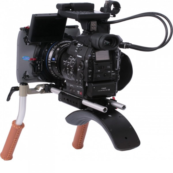 Vocas 0255-4900 Handheld kit Underneath for Canon EOS C300 - 0