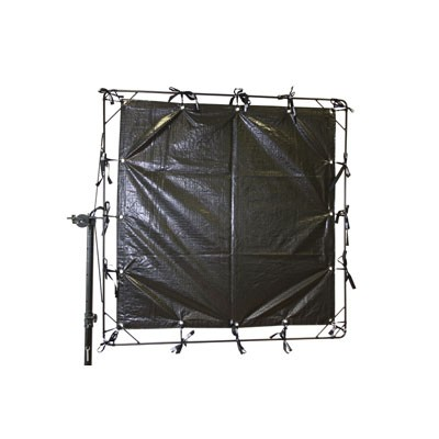 Roscotex 12'x12' 3,55mx3,55m Griffolyn (Black/White) - 0