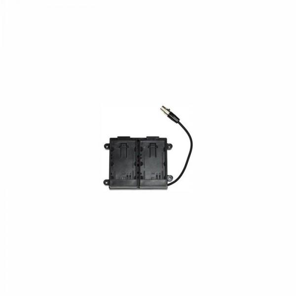 TV Logic BB-058C Batterydapter, for VFM-058, for Canon EOS 5D/7D Batteries - 0