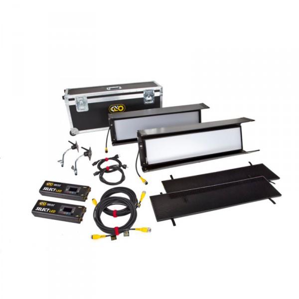 KinoFlo Select 30 DMX Kit (2-Unit), Univ 230U KIT-S32-230U - 0