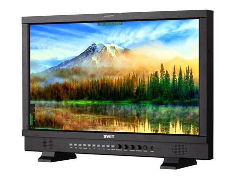 "SWIT S-1243HS, 23,8"" FHD 3GSDI/HDMI Studio LCD, V-Mount"