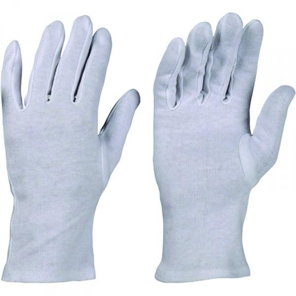 Schutzhandschuhe weiss Textil fein,Size 10 - 0