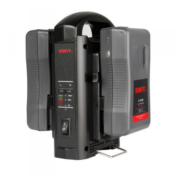 SWIT SC-302S, 2-ch Sequential Charger, V-Mount