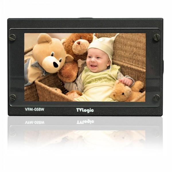 "TV Logic VFM-058W 5,5"" LCD Full HD Viewfinder 1920x1080, 3G-SDI, HDMI - 0"