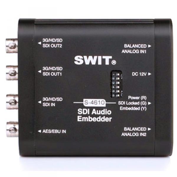 SWIT S-4610, SDI Aduio Embedder