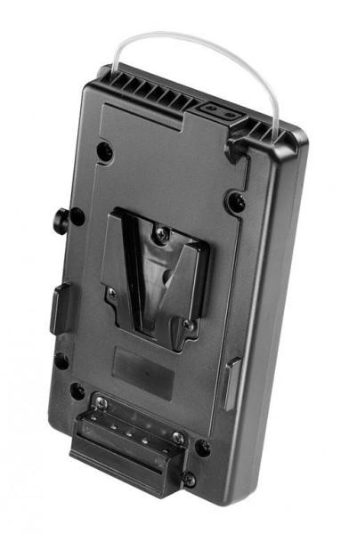 dedolight DLBCA-V, V-Mount Adapter mit Gürtelclip