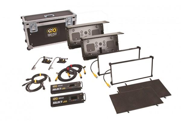 Kino Flo KIT-F22U, Interview/FS 21 LED DMX Kit (2-Unit), Univ