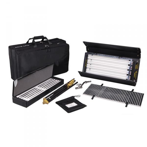 Kino Flo KIT-D4BE-230 Diva-Lite 401 Enhanced Kit, 230VAC w/ Soft Case - 0