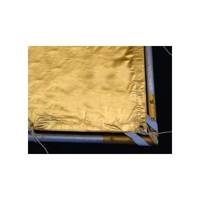 Roscotex 4'x4' 1,12m x 1,12m Reflector Lame Gold - 0