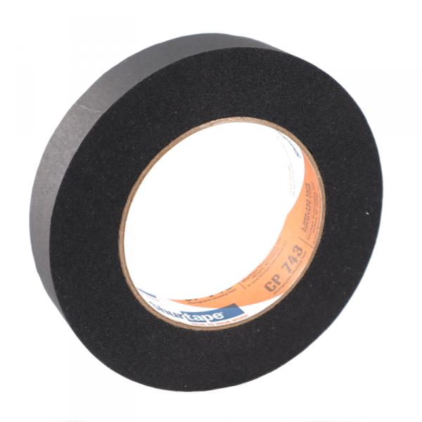 Shurtape CP743, Paper Tape Schwarz 25mm x 55m