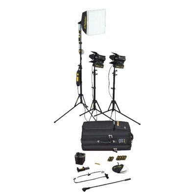 dedolight SPS3, 3-Light kit with soft case - 0