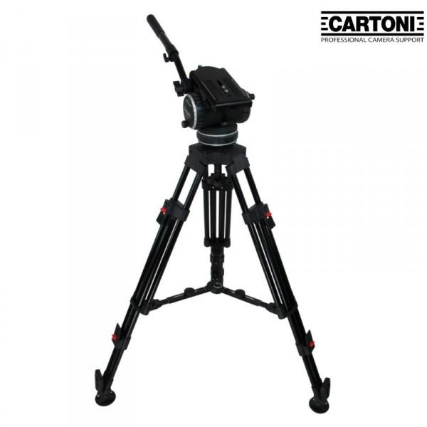 Cartoni K513/2C C20-S 2 stage carbonfibre System