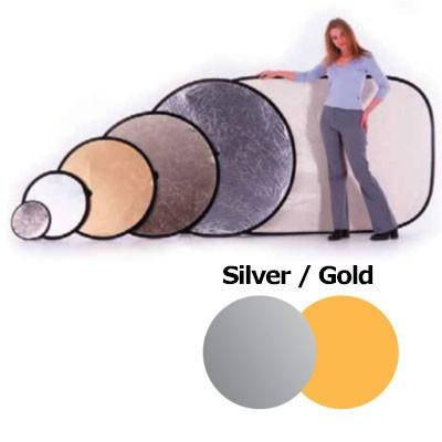 Lastolite LL LR3034 Rundreflektor Silber/Gold 76cm - 0