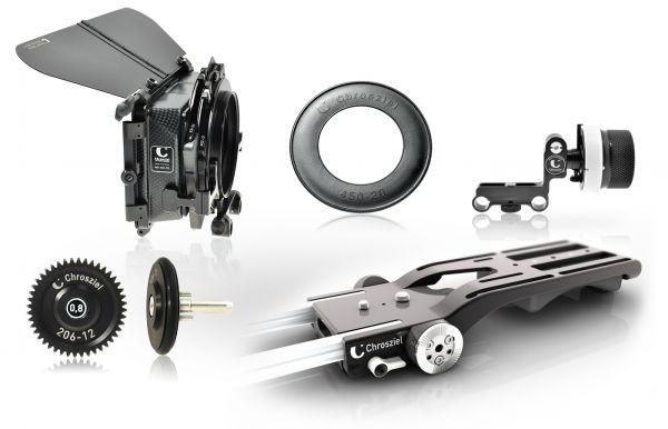Chrosziel FS7-450R2-KITFF Kit MB 450R2 + FollowFokus für Sony PXWFS7 (u. Objektive m. kleinem Durchm