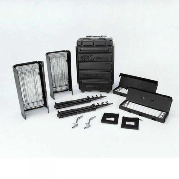 Kino Flo KIT-D42-230 Diva-Lite 401 Kit, 230VAC (2-Unit) w/ Flight Case - 0